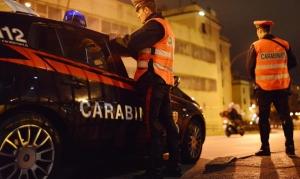8 patenti ritirate nella notte dai carabinieri in varie località della provincia di Cuneo