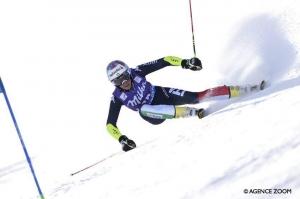 Marta Bassino 35ª nella discesa sulla Jeongseon Downhill