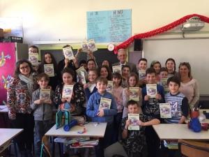 Educazione finanziaria con il presidente Ghisolfi alla storica scuola Calvino a Fossano