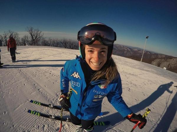 Terzo posto da sogno per Marta Bassino ad Aspen