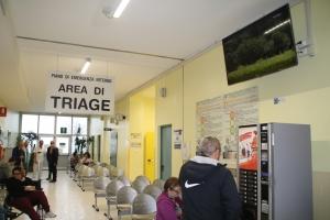 Due monitor per il Pronto Soccorso dell'Ospedale Santa Croce