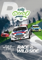 Abarth 124 Rally griffata 958 SANTERO protagonista al Ciocco