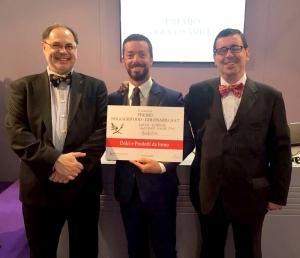 """I """"Monfortini"""" dell'Antica Dispensa hanno vinto il Premio """"Golosario"""" 2017"""