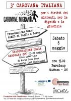 Inaugurazione 3ª Carovana Italiana per i diritti dei migranti