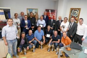 Successo all'Aci Cuneo per la premiazione dei piloti e navigatori del campionato sociale