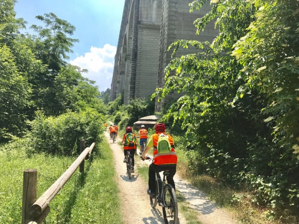 In bici nel Parco Fluviale Gesso e Stura per promuovere la cintura verde di Cuneo città, vero paradiso per i cicloturisti