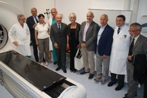 L'assessore Saitta inaugura il TAC Simulatore al S. Croce di Cuneo