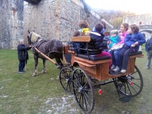"""A Vinadio il Forte è """"in carrozza"""" con il laboratorio per bambini e famiglie"""