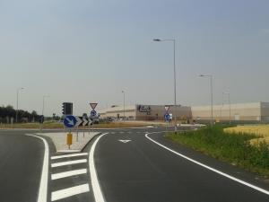 Aperta al traffico la nuova rotatoria di Castelletto Stura