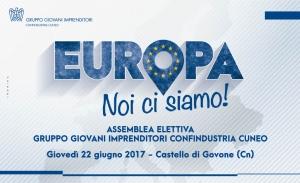 I Giovani Imprenditori di Confindustria Cuneo rivendicano la loro presenza in Europa