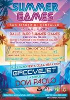 4ª Edizione dei Summer Games 2017