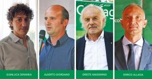 A Confagricoltura Cuneo le presidenze regionali di quattro Sezioni di prodotto