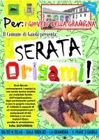 "Per i ""Giovedì della Gramigna"", a Gaiola serata Origami!"