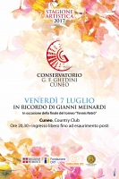 """Concerto """"In ricordo di Gianni Meinardi"""""""