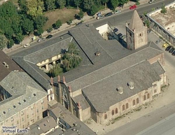 Immagine satellitare del Complesso monumentale di San Francesco