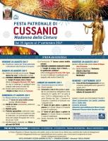 Festeggiamenti a Cussanio 2017