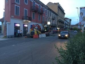 Alba: proseguono i lavori per il restauro di Corso Italia
