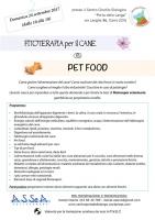 """Stage formativo """"Fitoterapia per il cane e pet food"""""""