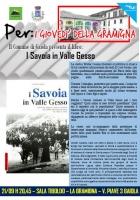 """Presentazione del libro """"I Savoia in Valle Gesso"""" di Walter Cesana"""