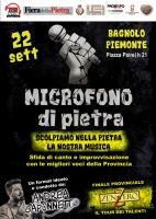 Microfono di pietra: Bagnolo apre la festa in musica