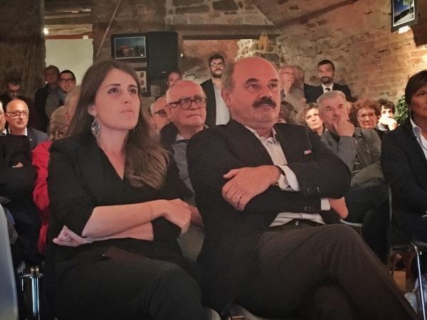 Chiara Gribaudo e Oscar Farinetti