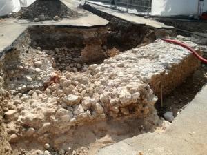 Ritrovate delle mura di fine '600 durante gli scavi del teleriscaldamento
